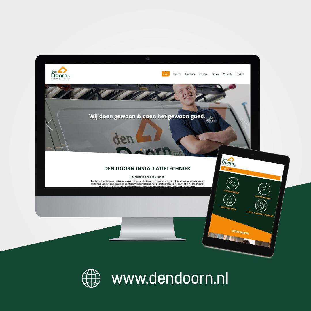 Nieuwe website Den Doorn